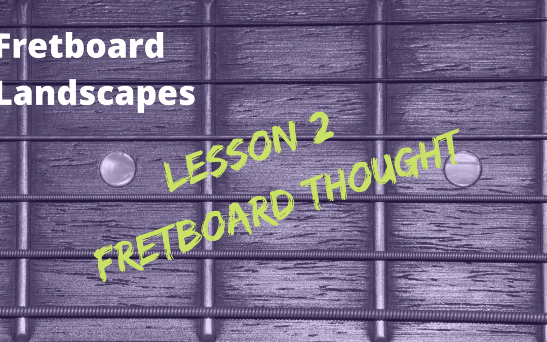 """Learn the NOTE-LAYOUT of the Fretboard using """"Note Relationships"""""""